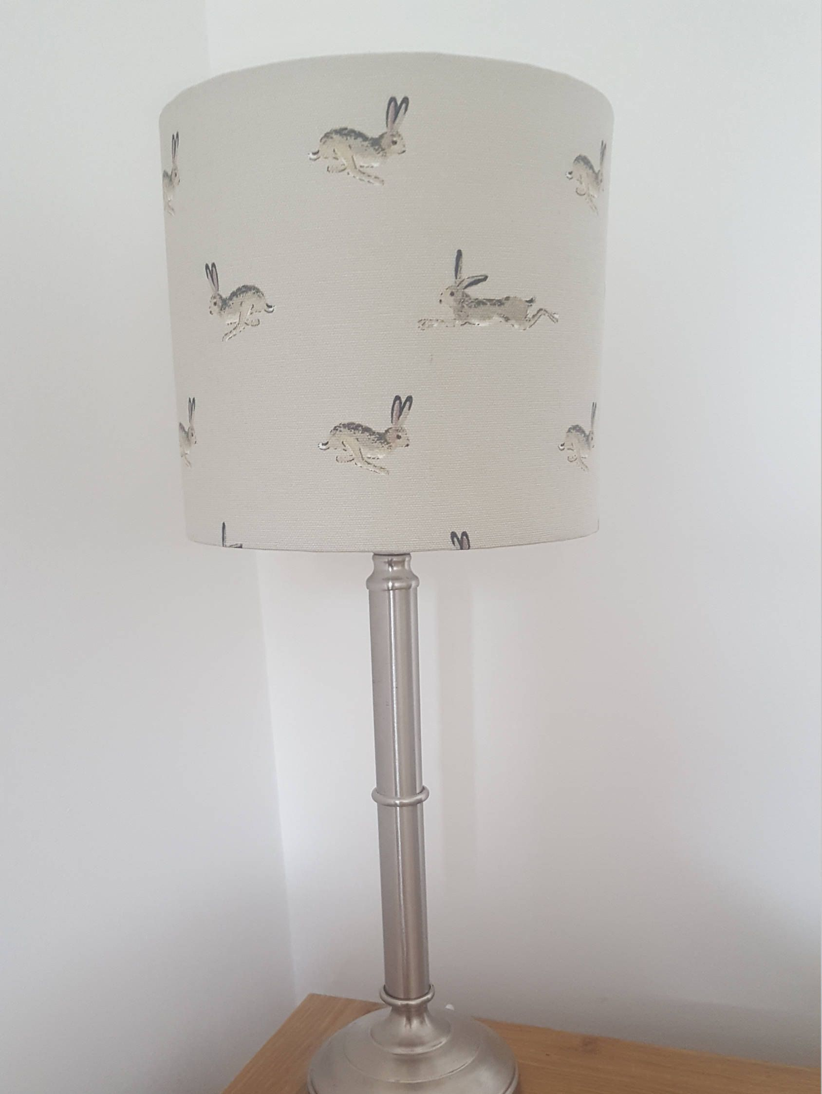 20cm table lampshade, hare fabric, Sophie Allport, home accessories ...