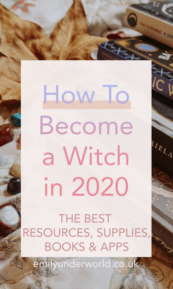 How To Become a Witch in 2020 The Best Witchcraft Resources The Best Witchcraft Apps The Best Witchcraft Books Magickal Books Witchcraft for Beginners Witch Aesthetic Wit...