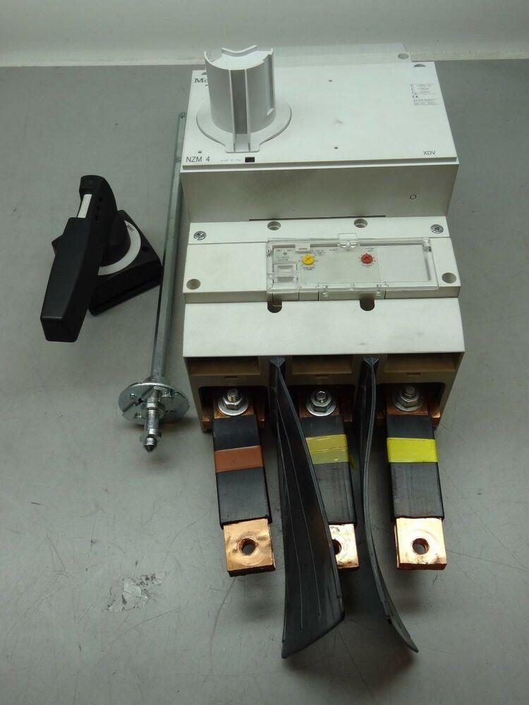 eBay #Sponsored Moeller NZM 4 3 Pole 600V 1200A Circuit