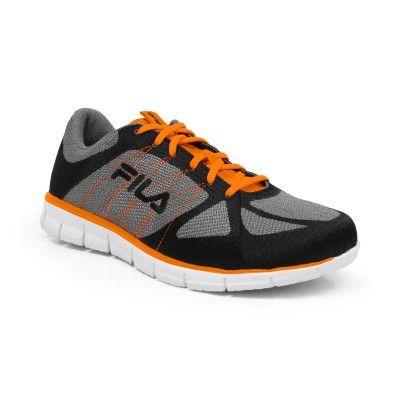 Tênis Fila Men s Speedweave Run Grey Black Orange  relogio  fila ... 026f357cc49