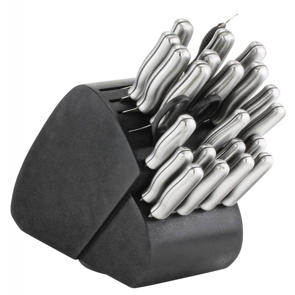Piece knife set steel handles if youre a home chef or hope to