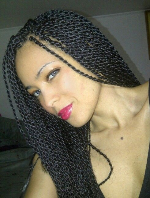 Senegalese twists natural hair style. | Raven Locks | Pinterest ...