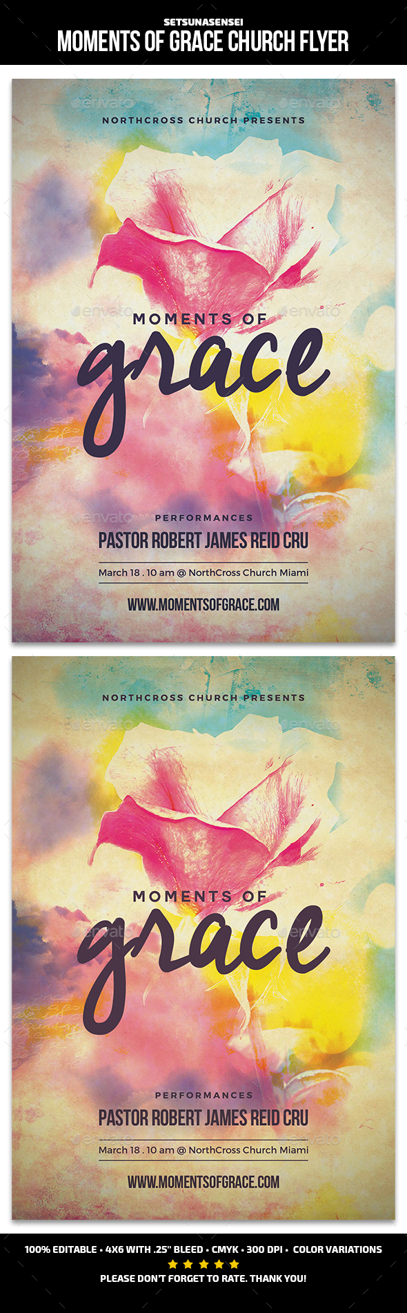 Moments of Grace Church Flyer Template PSD. Download here: http://graphicriver.net/item/moments-of-grace-church-flyer/16683209?ref=ksioks