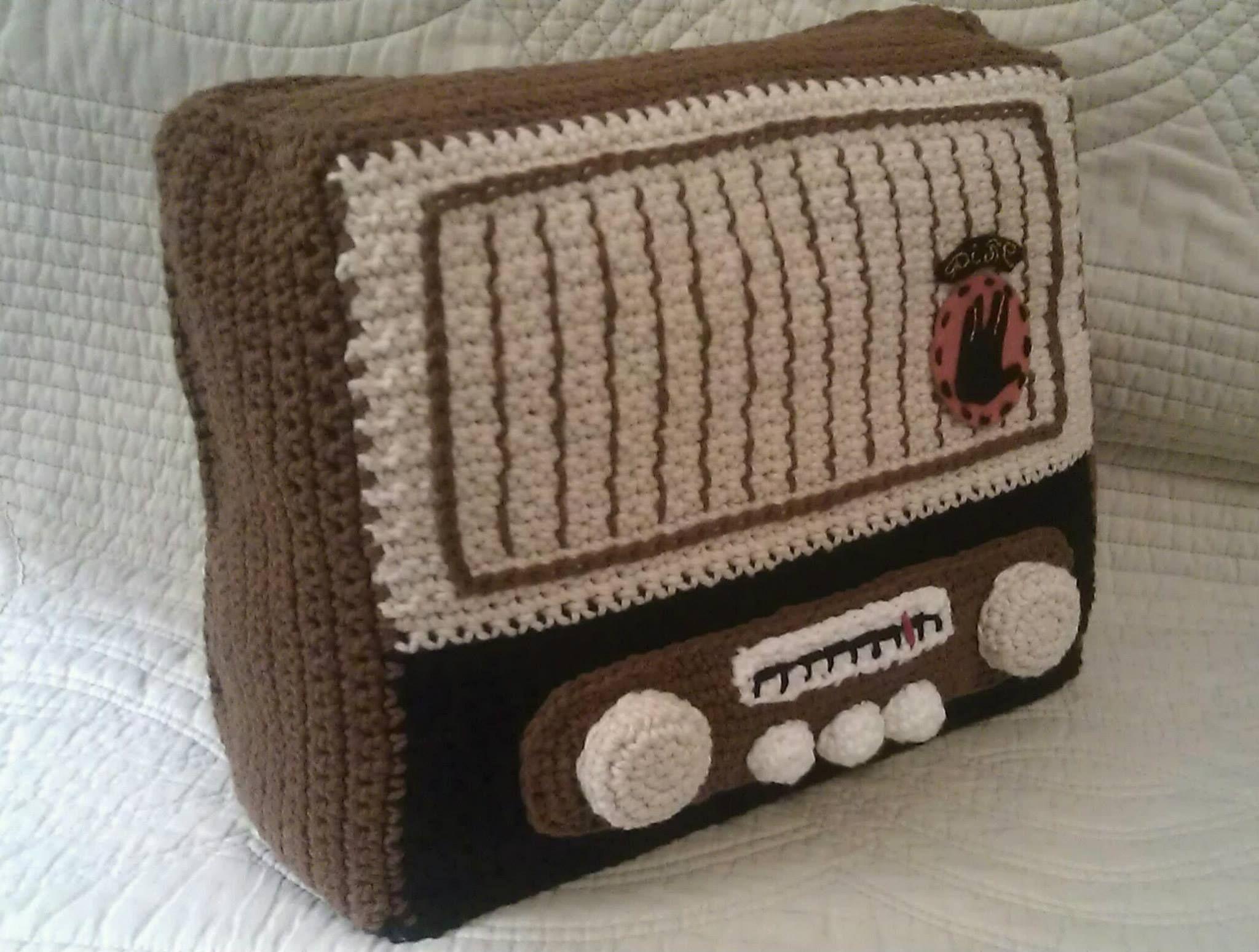 Radio de ganchillo
