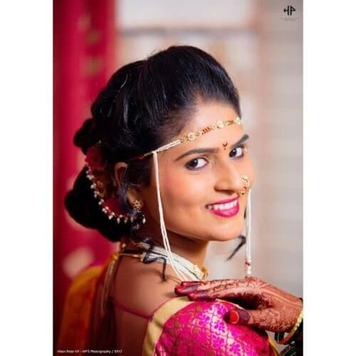 Pic Of Maharashtrian Traditional Hairstyle For Brides