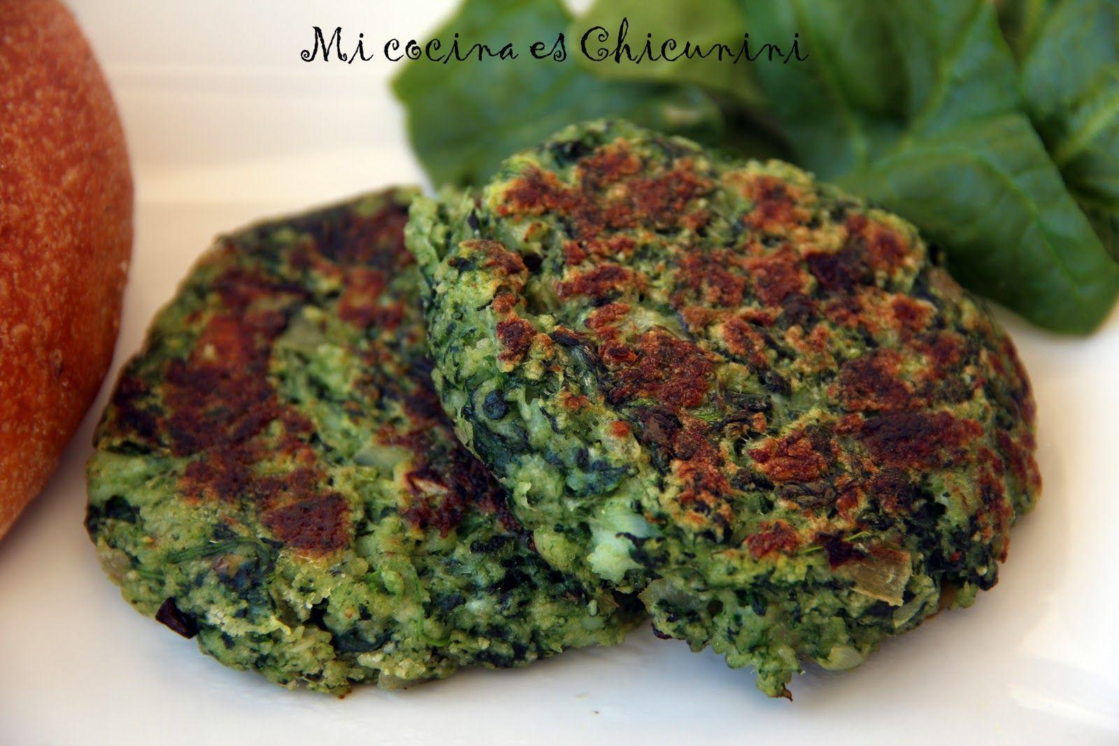 Mi cocina es Chicunini: Hamburguesas de pescado y espinacas   food ...