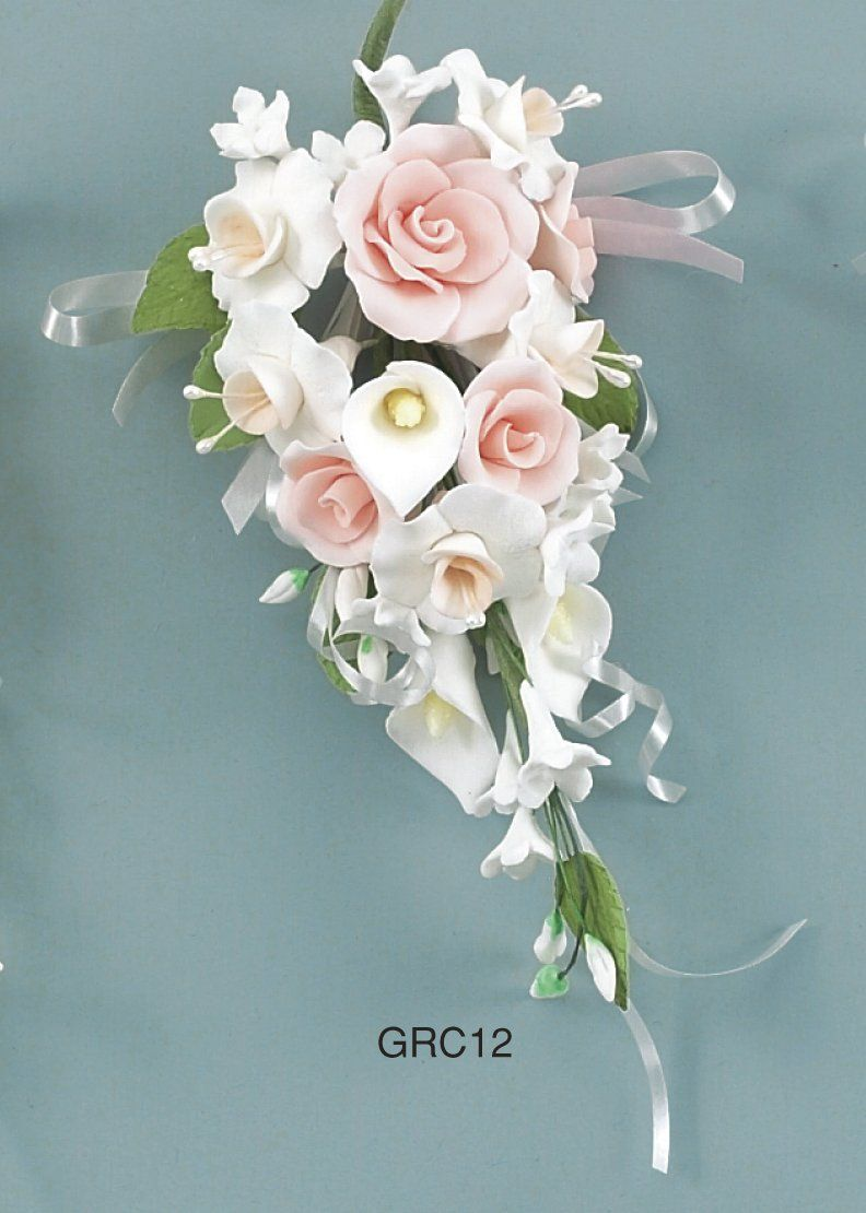 Calla Lillie Spray Sugarflower Beautiful Calla Lily Cake Sugar Paste Flowers Unique Wedding Flowers