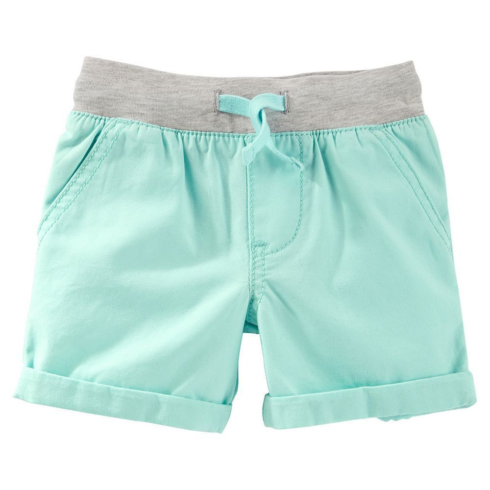 12 Months Size Green Baby Boy Carters Transitional Pull-On Shorts