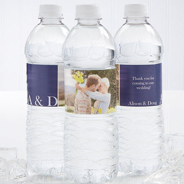 Wedding Couple Personalized Water Bottle Labels Wedding Gifts Weddi Water Bottle Labels Wedding Custom Water Bottle Labels Personalized Water Bottle Labels