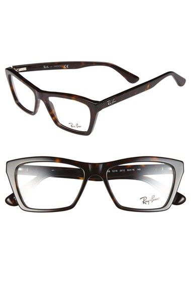 Ray-Ban+53mm+Optical+Frames+available+at+#Nordstrom | Can I HAVE it ...