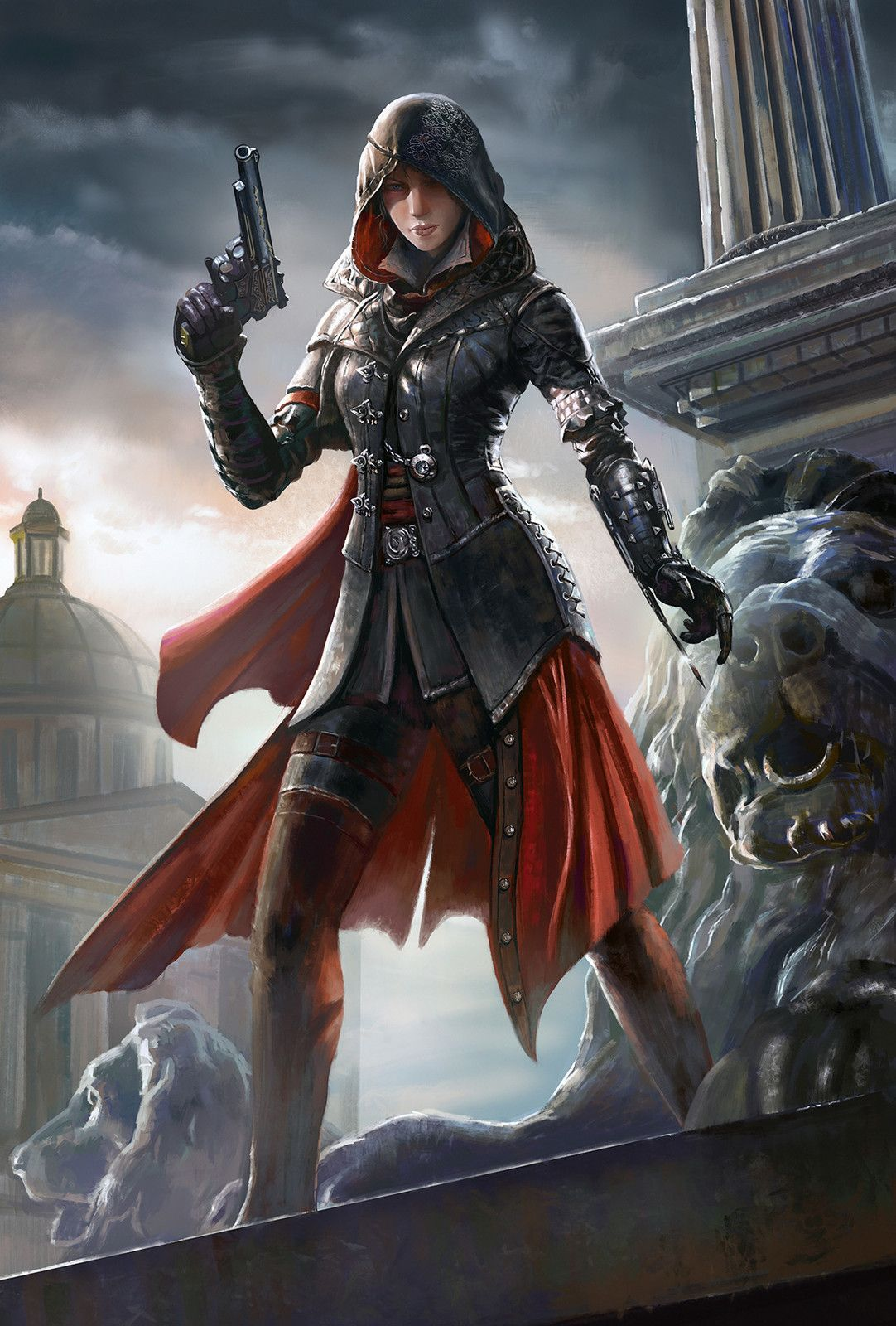 Assassin Frank Lee On Artstation At Https Www Artstation Com Artwork Reddj Assassins Creed Art Assassins Creed Female Girl Assassin