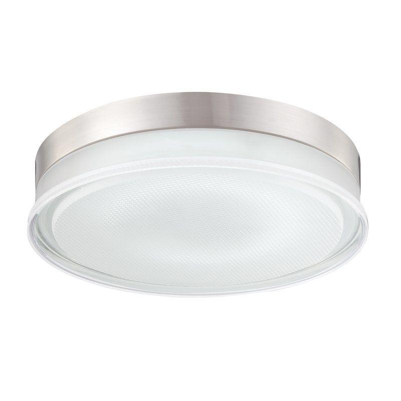 View the Eurofase Lighting 23016 Halo 1 Light Flush Mount Ceiling Fixture at LightingDirect.com.