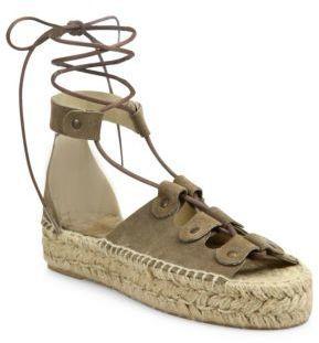 7759cfe6eeb8 Soludos Ghillie Suede Platform Espadrille Sandals