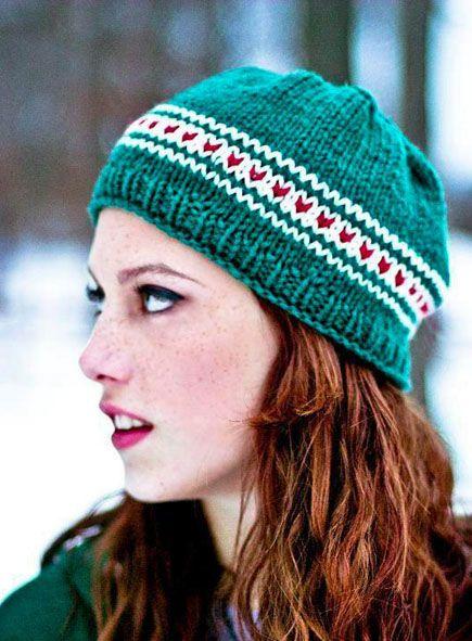 Weekend Project Easy Knit Fox Hat Free Knitting Pattern