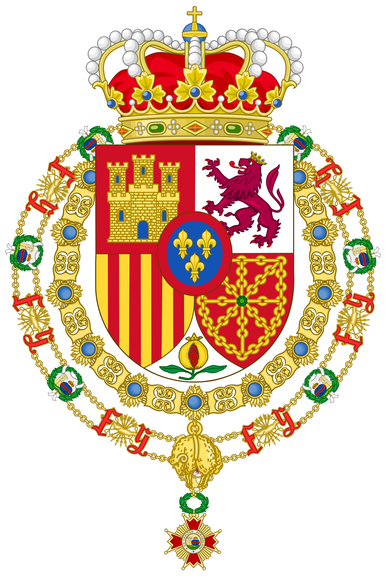 User Heralder Wikimedia Commons Coat Of Arms Heraldry Spanish Royal Family