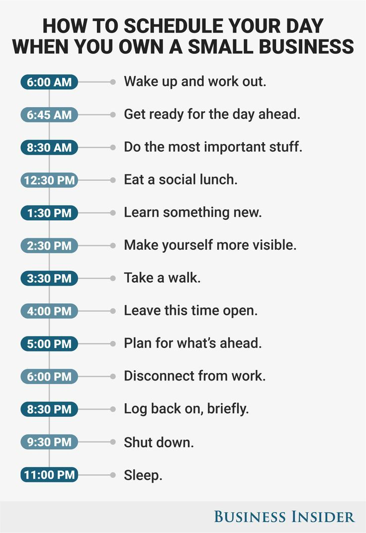 How to schedule your day for maximum productivity