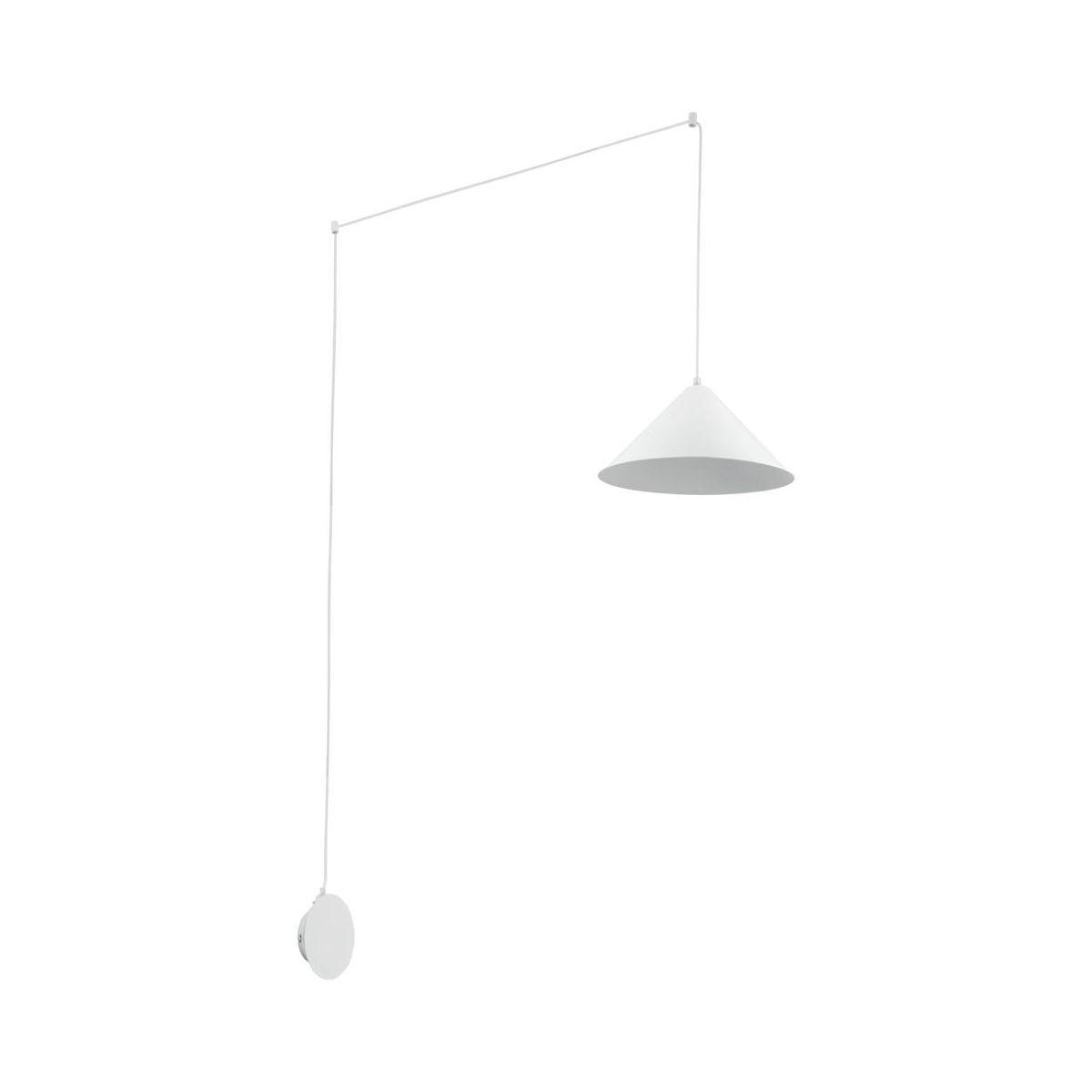 Lampa wisząca SOMERSET biała ruchoma E27 INSPIRE   Lampa