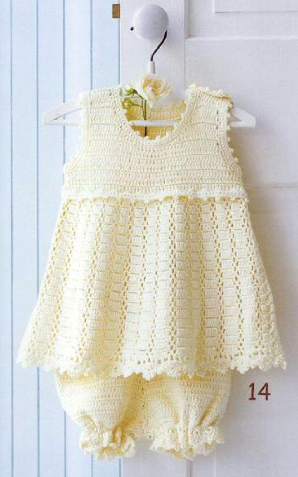 Jumperdress Crochet Pattern   dress   Pinterest   Ganchillo ...