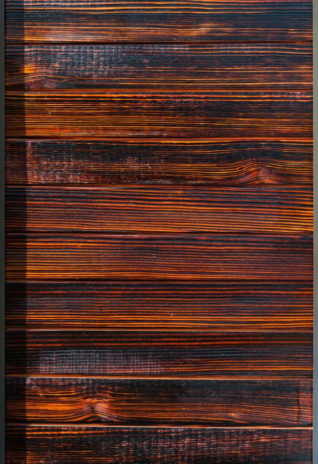 charred wood siding i 39 m listening texture. Black Bedroom Furniture Sets. Home Design Ideas