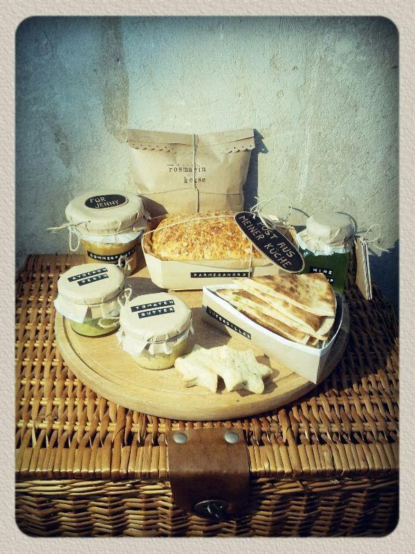 """Picknickkorb für die """"Post aus meiner Küche"""" Aktion im"""