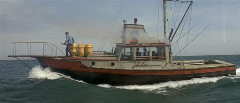 Orca - Boats in Movies, which ones can you name? | Famous Vehicles in 2019 | Jaws boat, Jaws ...