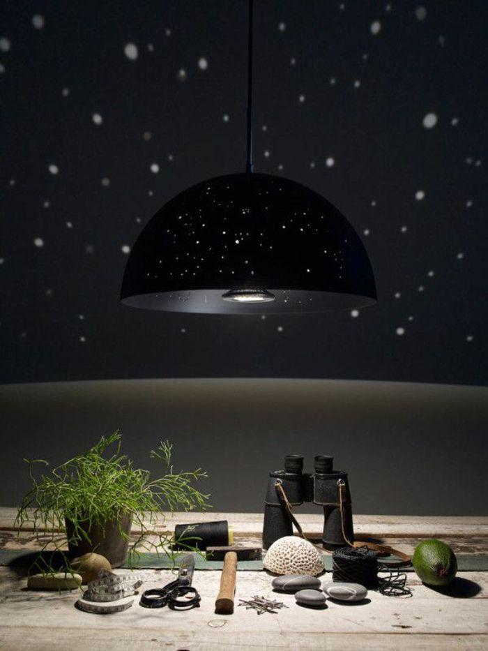 44 fotos sternenhimmel aus led f r ein luxuri ses interieur living sternenhimmel lampe. Black Bedroom Furniture Sets. Home Design Ideas