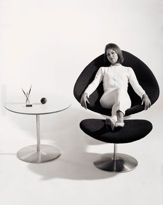 Pierre Paulin Globe Chair - 1959