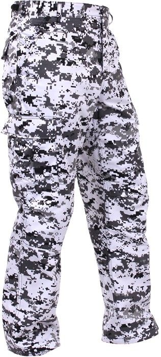 City Digital Camouflage Military Cargo BDU Fatigue Pants  965ecea21ca