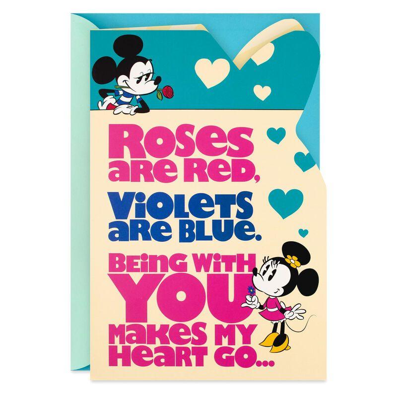 Mickey And Minnie Woo Hoo Anniversary Card Anniversary Cards Anniversary Greeting Cards Minnie