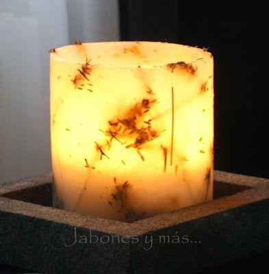Fanales con hierbas aromáticas - Jabones y más...