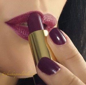 Estee Lauder Insolent Plum Pure Color Nail Lacquer Review