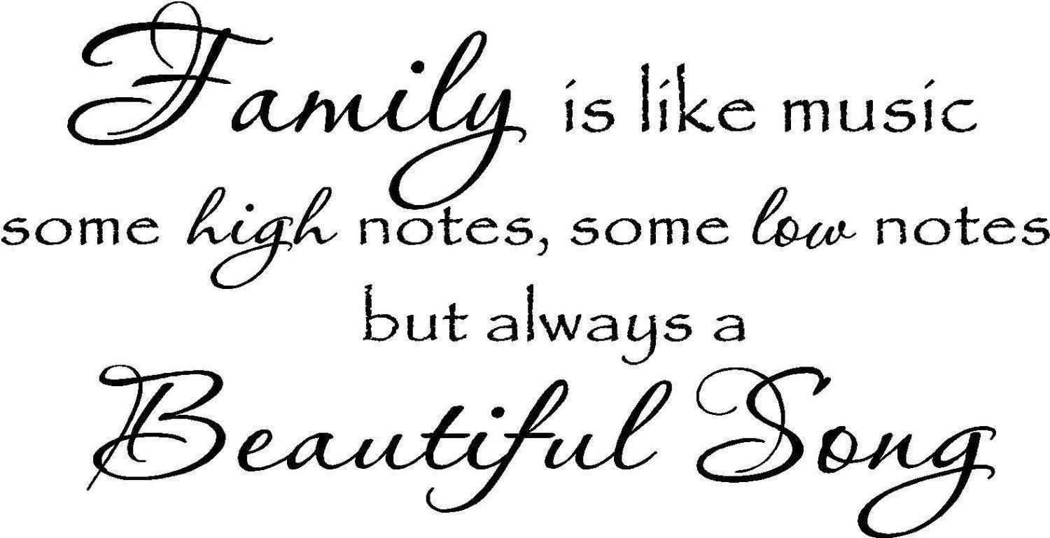 Family Music High Notes Google Search Be Yourself Quotes Beautiful Songs Lettering