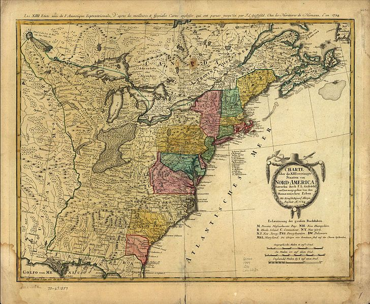 The Colonial Period As Described By An Map Of The Original - Map of the us colonies