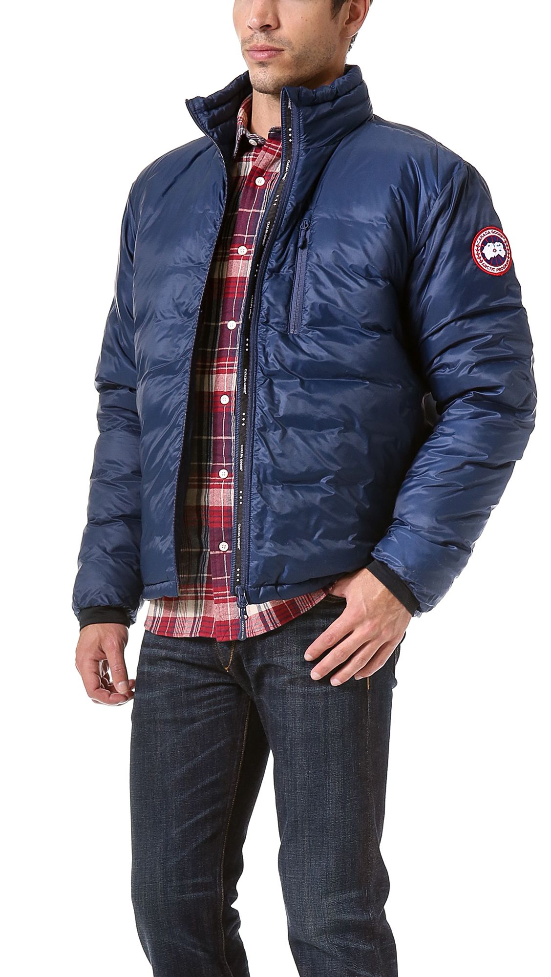 Image result for men canada goose lodge jacket  832727f7c
