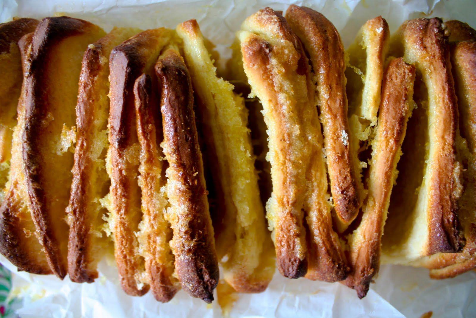 Buttered Up: Lemon Pull-Apart Bread