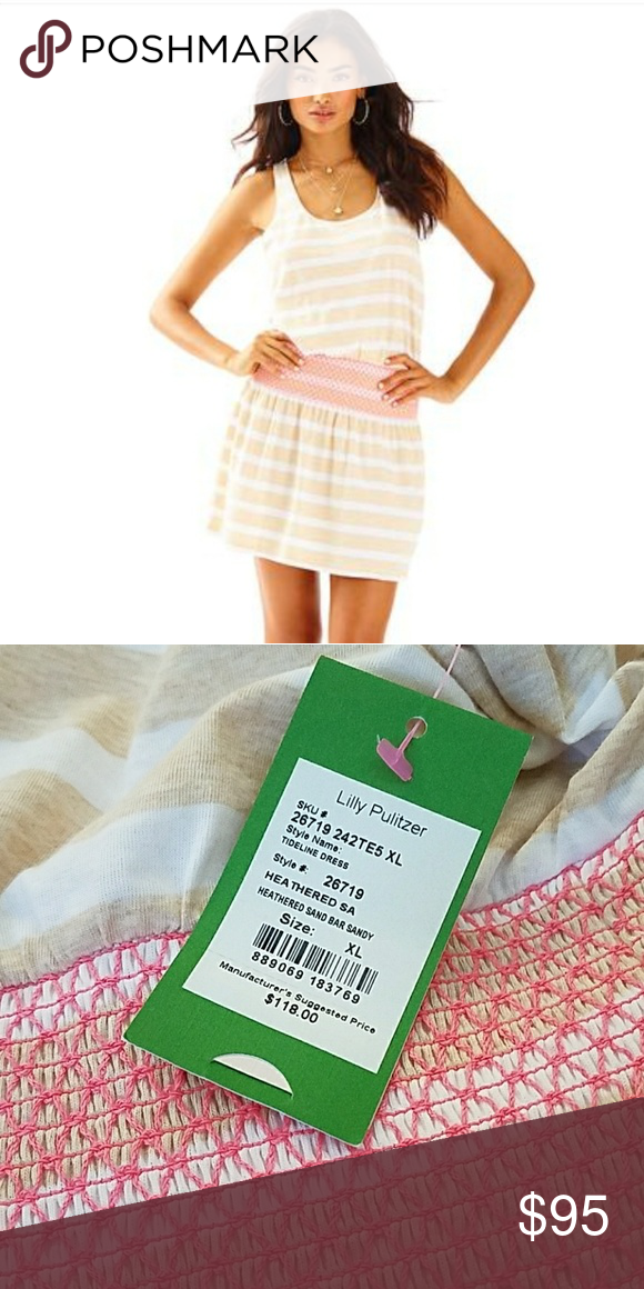 04defdea8f9377 Lilly Pulitzer Tideline Dress Print: Heathered Sandbar Sandy Lilly Pulitzer  Dresses