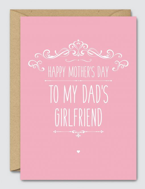 to my dads girlfriend happy mothers day