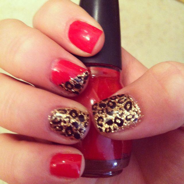 21st birthday nails <3