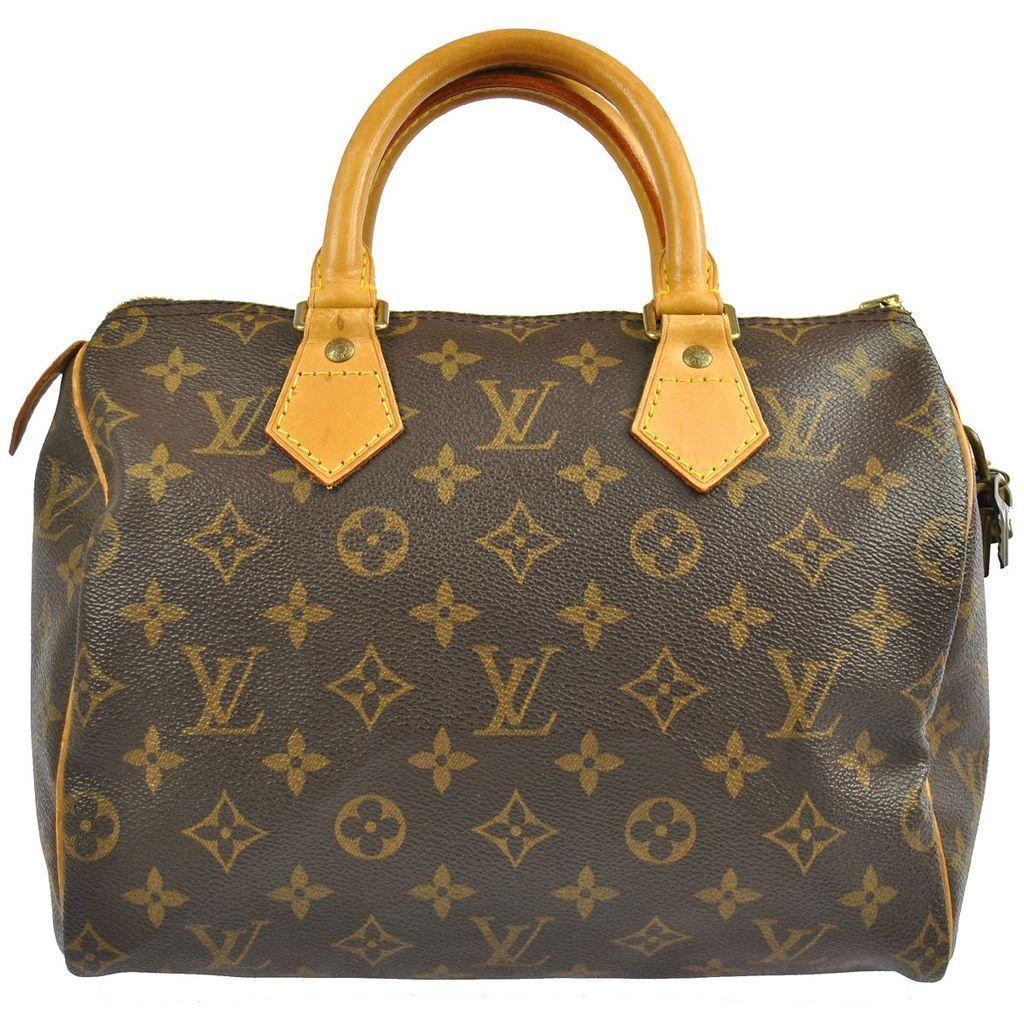 da18a3c4c26e Louis Vuitton Vintage Speedy 25 Doctor Satchel Boston Bag