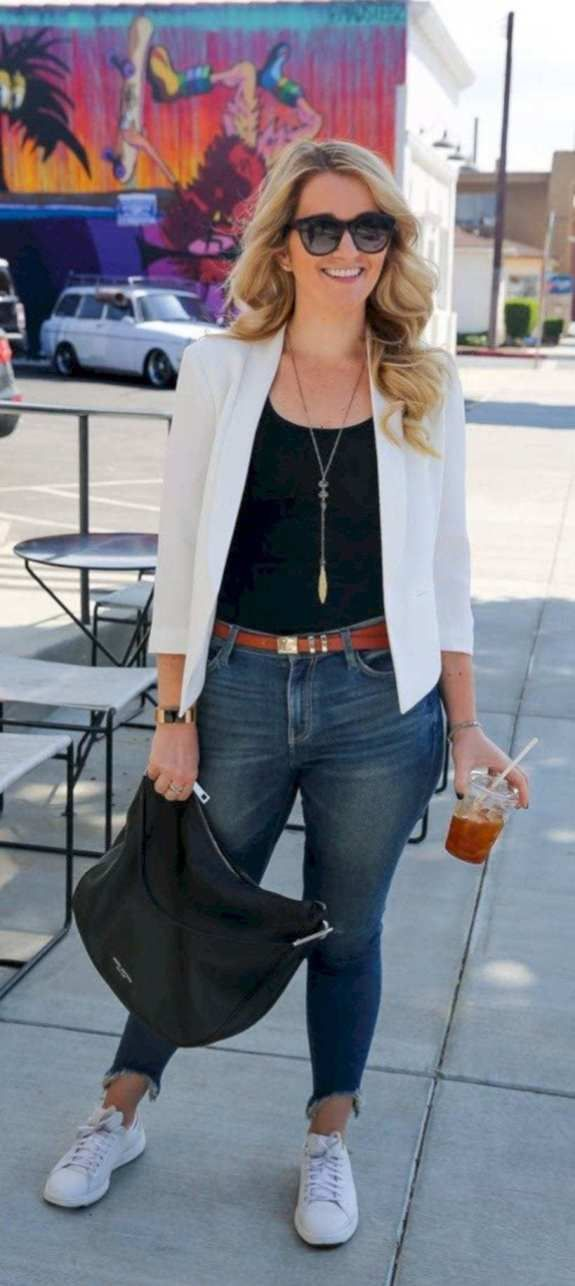 60 Casual Blazer Outfit for Women You Must Have