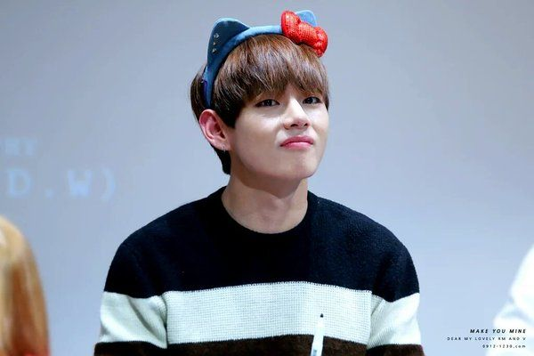 "뷔팬베이스 on Twitter: ""[HQ] 160103 Bundang Fansign #방탄소년단 #뷔 
