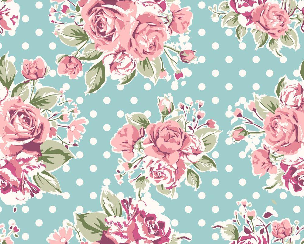 Intage Rose Pattern Vintage Flower Backgrounds Vintage Flowers Wallpaper Flowery Wallpaper