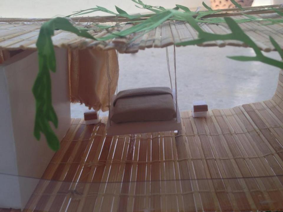 Concept transparence et ouverture totale Maquette maison-serre - maquette de maison a construire