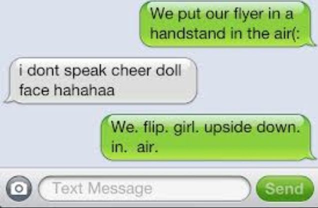 Lol True Cheer Quotes Cheerleading Quotes Funny Text Messages