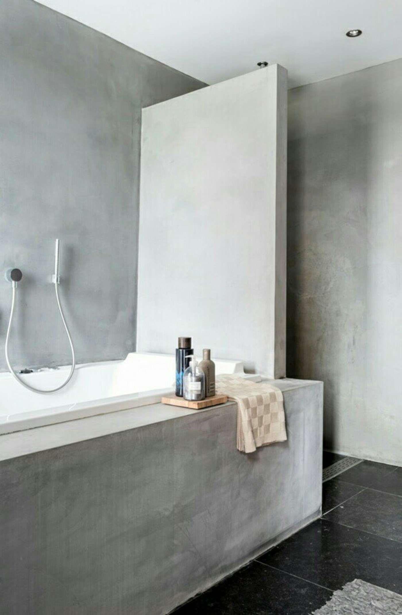 Trends Shaker | Concrete bathroom | Concrete and wood | Pinterest ...