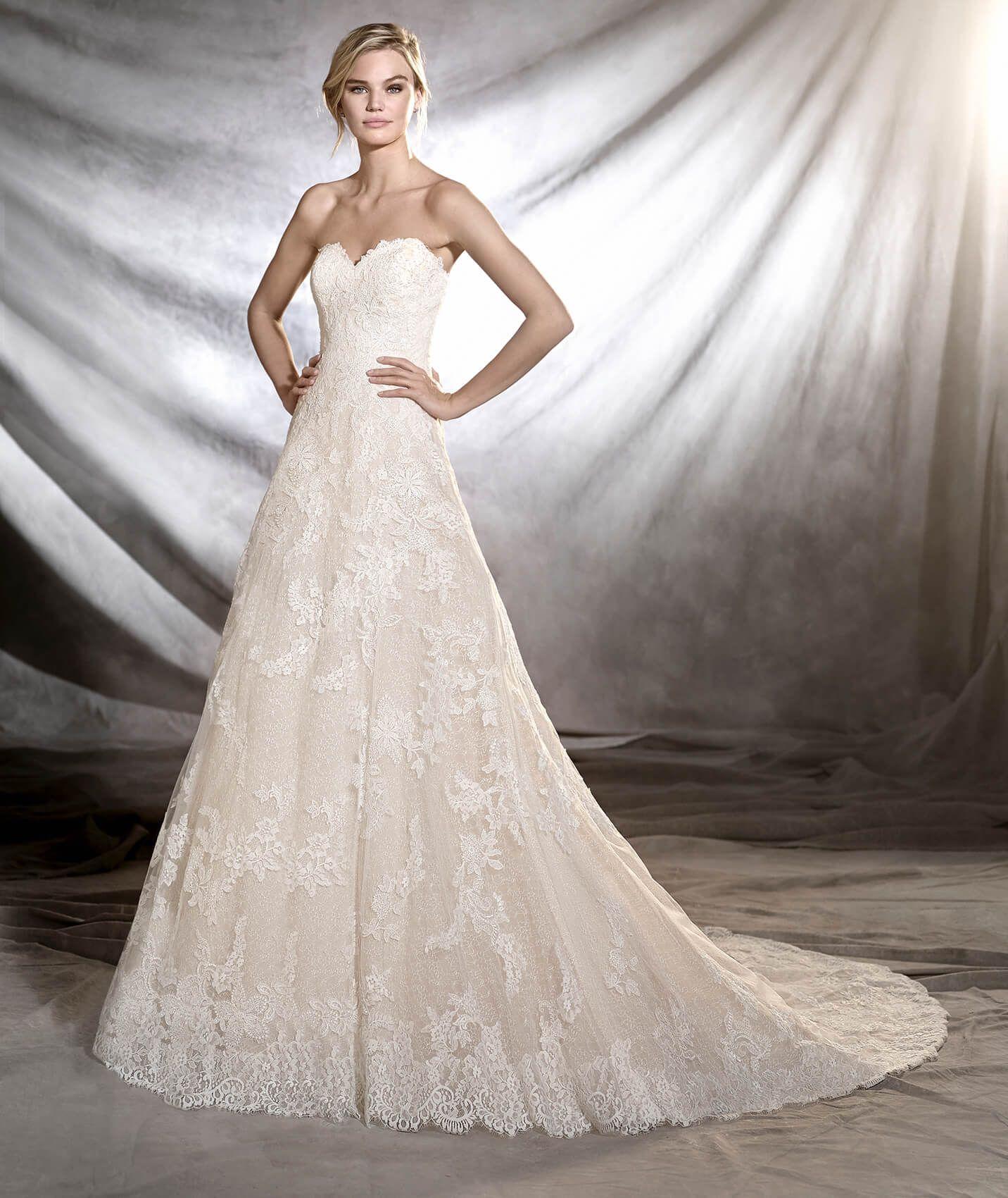 ONIA - Princess style wedding dress | Pinterest | Brautkleid ...