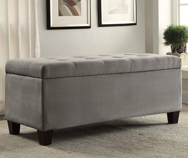 I Found A Erin Gray Padded Shoe Storage Ottoman At Big Lots For Less Find More At Biglots Com With Images Shoe Storage Ottoman