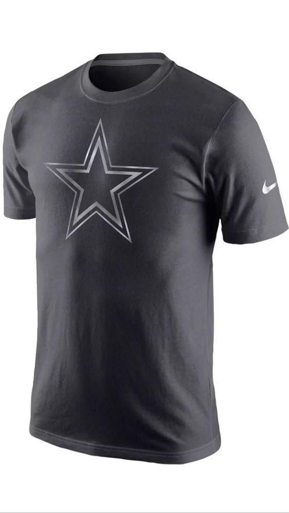 registratore di cassa a buon mercato Pornografia  Mens NFL Dallas Cowboys Nike Platinum Short Sleeve T-Shirt -Gray-Size  L-Last One | Dallas cowboys outfits, Dallas cowboys funny, Nike west