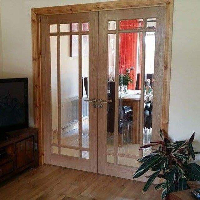 Murphy Larkin On Instagram Oakdoors One Of Our Most Popular Glass Doors Is This Deanta Oak Nm5g Oak Doors Glass Door Oak Floors
