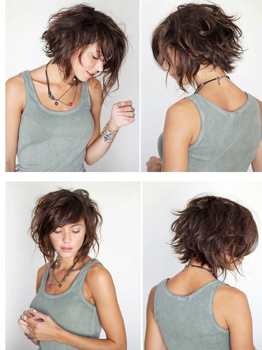 Wish I had wavy hair Hair and face in Pinterest Hair